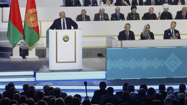 """Lukaschenka: """"Werde mein Land niemandem überlassen"""""""