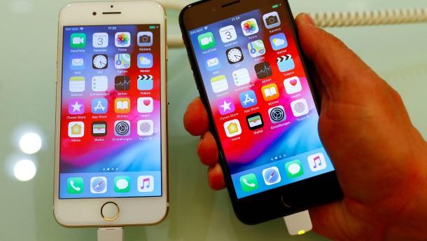 Verkaufsverbot für ältere iPhones jetzt auch in Deutschland