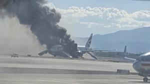 British-Airways-Maschine fängt Feuer