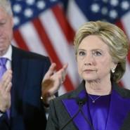Werden die Russland-Vorwürfe nicht los: Hillary und Bill Clinton