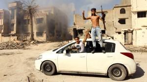 Regierungstruppen besetzen Bengasi