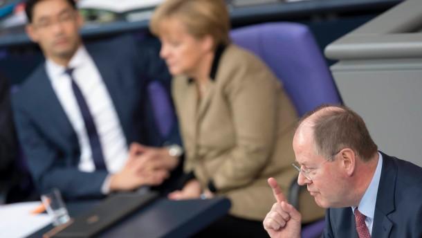 Bundestag Steinbrück