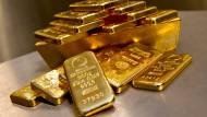 Gefälschte Goldbarren: Nur 324 Kilogramm der angeblich vier Tonnen Gold, das die BWF-Stiftung für ihre Kunden lagerte, waren echt.