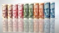 Verliert seit Monaten an Wert: Die türkische Lira
