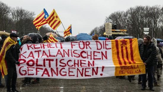 Für Kataloniens Unabhängigkeit