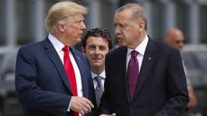 Trump fordert sofortigen Waffenstillstand in Syrien