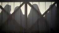 Unser Bild zeigt eine Gruppe von Nonnen bei der Ostermesse auf dem Petersplatz im Vatikan vor einem Jahr.