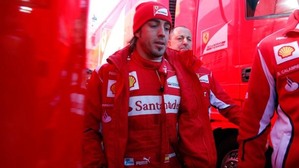 Ferrari rennt die Zeit davon