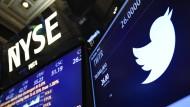 Der Aktienwert von Twitter steigt.