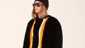 Kunstpelz als Modeprodukt: Die italienische Marke Ainea bemalt und bedruckt den faux-fur