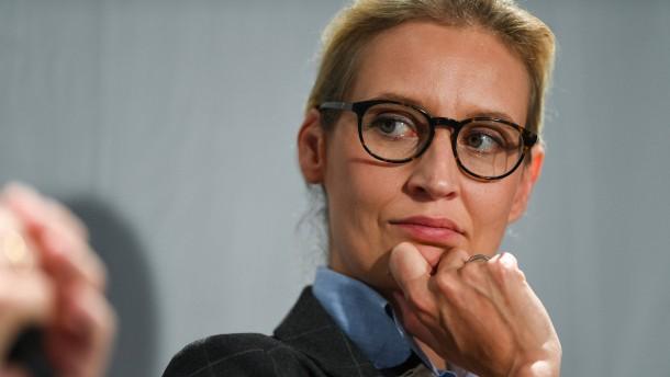 Alice Weidel wagt die Flucht nach vorn