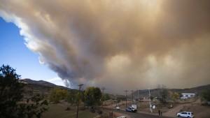 Rocky Mountain Nationalpark wegen Waldbrand geschlossen