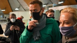 Internationale Kritik an Nawalnyjs Festnahme