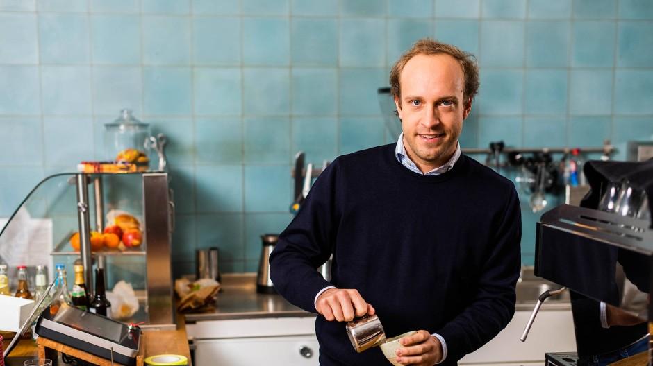 Fortan für Melitta tätig: Boris Häfele hat den Onlinehändler Roastmarket in Frankfurt mitgegründet, nun hat Melitta die Mehrheit  übernommen.