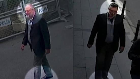 Überwachungsvideo zeigt Mann in Khashoggis Kleidern
