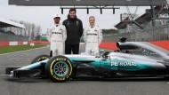 Mercedes stellt neuen Silberpfeil vor