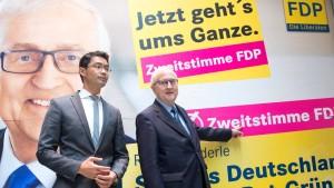 """""""Wer Merkel haben will, wählt FDP"""""""