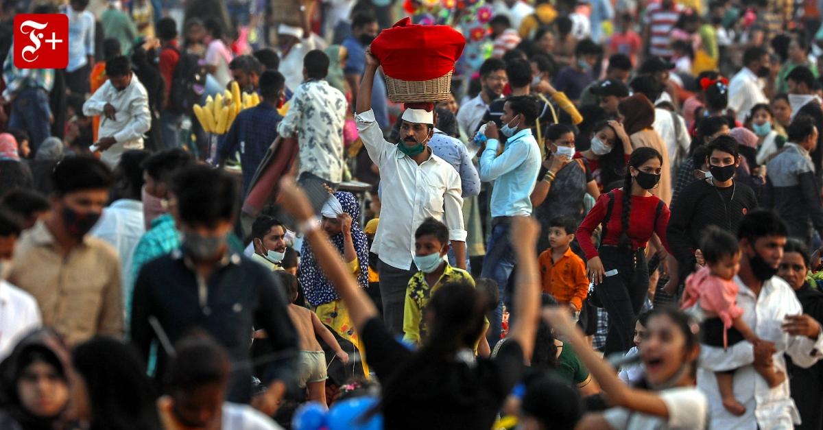 Hat Indien schon eine Herdenimmunität erreicht? - FAZ - Frankfurter Allgemeine Zeitung