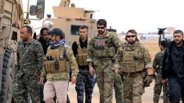 Amerika will Soldaten komplett aus Syrien abziehen
