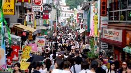 Schon vor dem Coronavirus ist Japans Wirtschaft stark geschrumpft