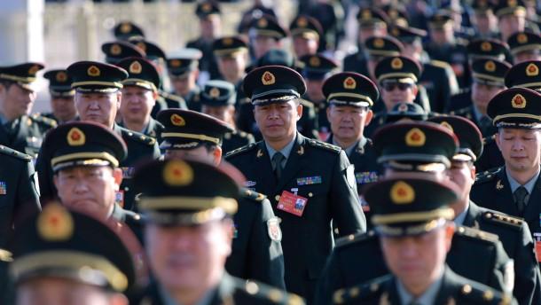 China rüstet drastisch auf