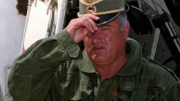 """UN-Tribunal über den """"Schlächter vom Balkan"""""""