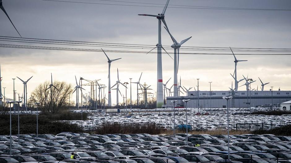 Aus den beiden Fähigkeiten der Region (Autos und Wind) könnte eine Spezialität für moderne Mobilität werden.