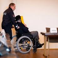 Ihm wird Beihilfe zum Mord in mindestens 5230 Fällen vorgeworfen: Der 93 Jahre alte Bruno D.