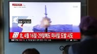Neuer Raketentest Nordkoreas