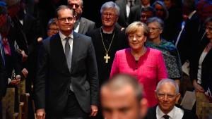 Merkel: Ohne Religionsfreiheit nimmt die Gesellschaft Schaden