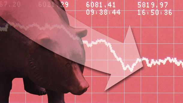 Schuldenkrise schickt Dax ins Minus