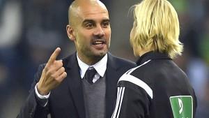 Guardiolas Kontrollverlust bleibt ohne Folgen
