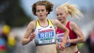 Auf dem Weg zu Silber: Alina Reh während des 5000-Meter-Laufs bei den Europameisterschaften im schwedischen Gävle