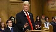 Der Wahnsinn soll nicht normal werden: Alec Baldwin als Donald Trump