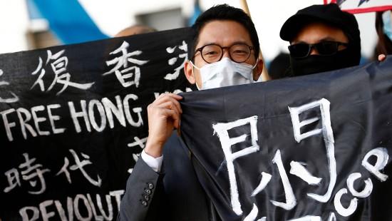 Hongkong-Aktivist fordert Sanktionen gegen China