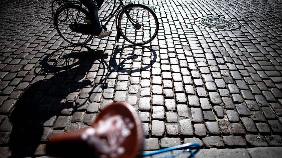 In Münster gehört das Radfahren für die meisten Bewohner schon zum Alltag dazu.