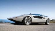Maserati Boomerang aus dem Jahr 1972: Italienische Entwurfskunst war im 20. Jahrhundert weltweit gefragt.