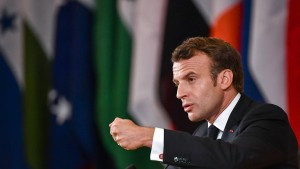 Macron warnt vor Krieg
