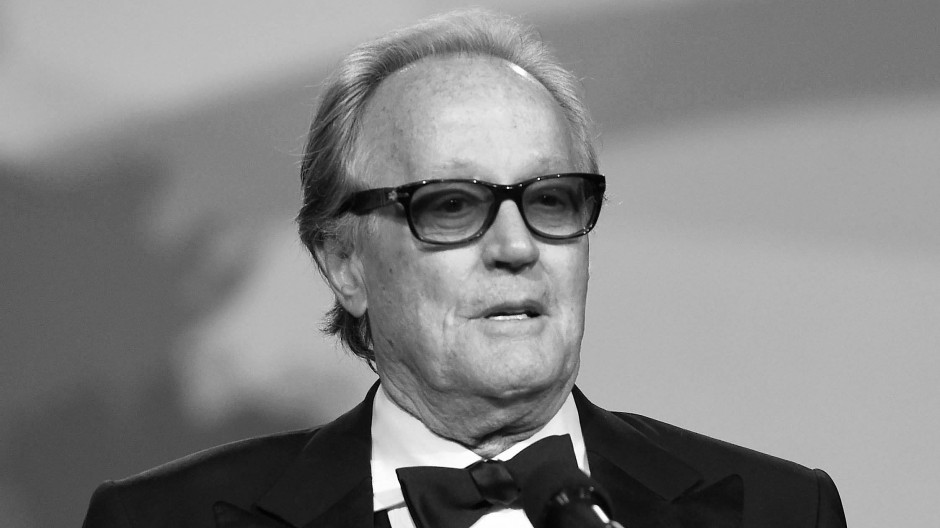 Peter Fonda präsentiert während des Palm Springs International Film Festivals 2018 eine Auszeichnung.