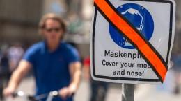 Maskenpflicht soll nicht voreilig fallen