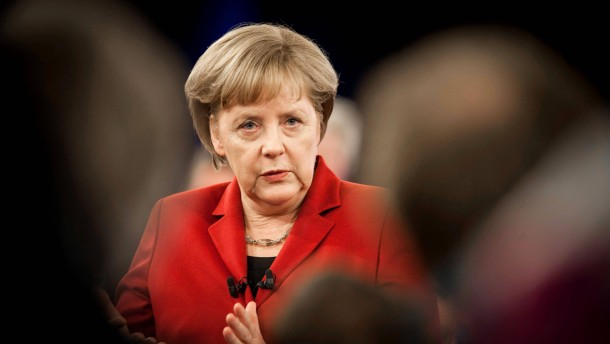 Zukunftsdialog mit Angela Merkel in Bielefeld
