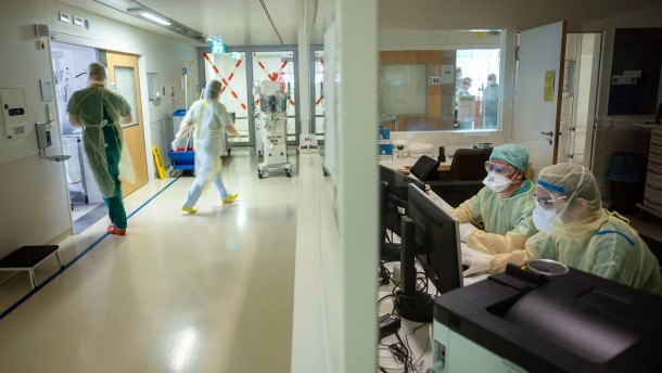 Bald mehr Corona-Patienten als an Weihnachten befürchtet