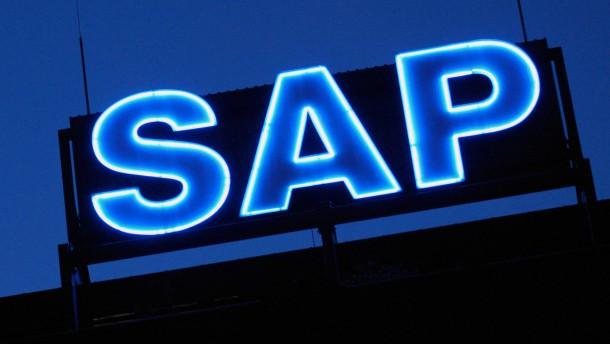 SAP steuert auf neue Bestmarke zu