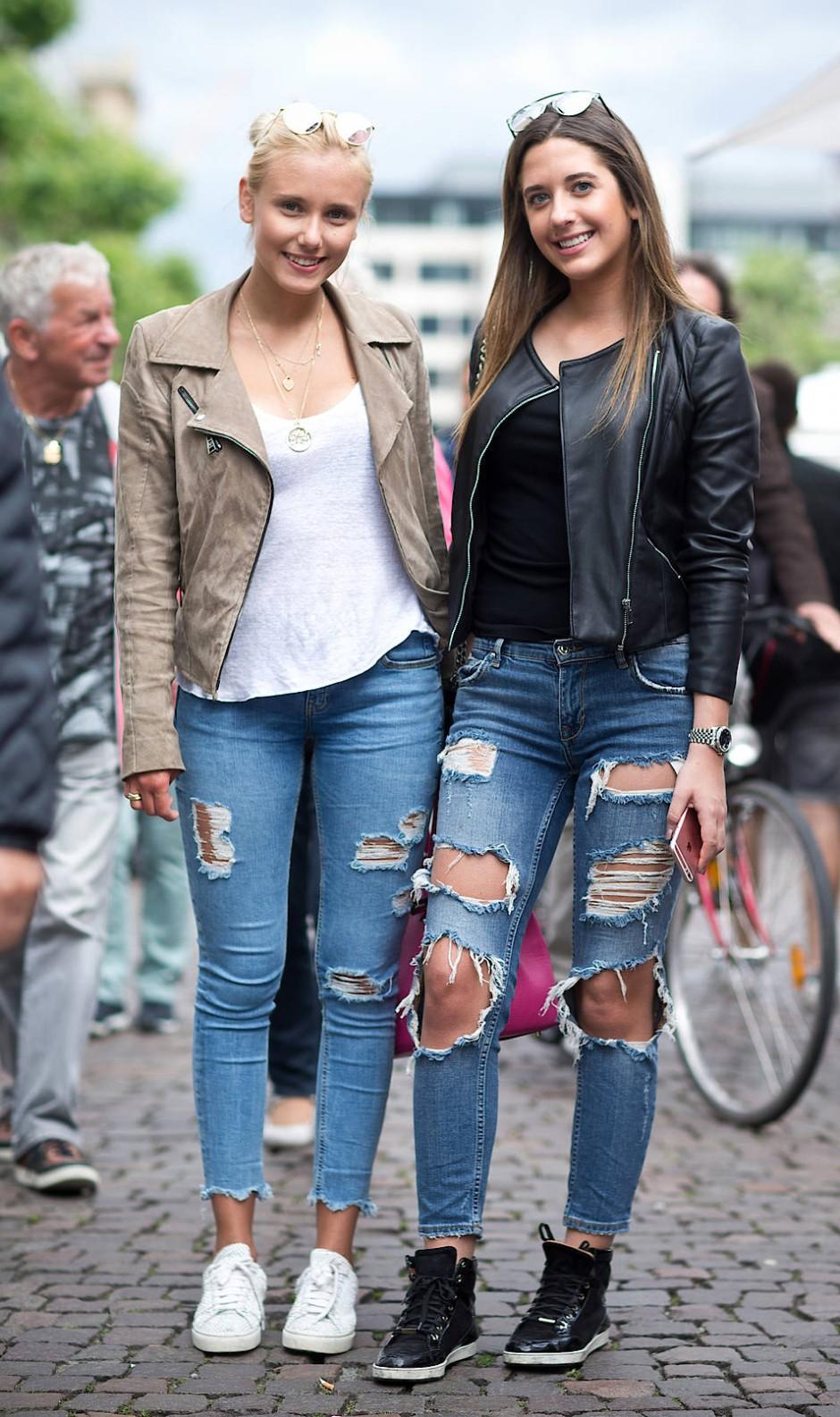 schülerpraktikum modedesign frankfurt bilderstrecke zu l cher in der jeans als modetrend bild