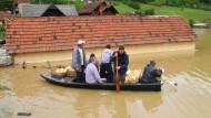 Serbien will 25.000 Menschen evakuieren