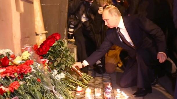 Attentäter von St. Petersburg soll Kirgise sein
