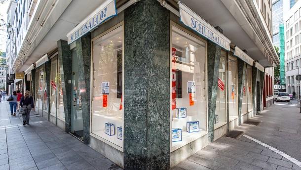 Frankfurter Luxus-Einkaufsstraße verliert am meisten
