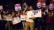 Angst vor einem Monopol: Israelis protestieren gegen die Förderpläne der Regierung.