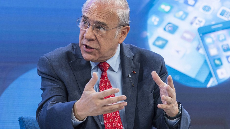 OECD-Generalsekretär Angel Gurría