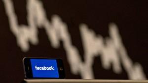 Facebook-Aktie setzt Talfahrt fort